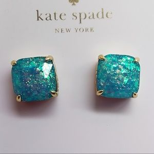 Kate Spade New Square Turquoise Earrings